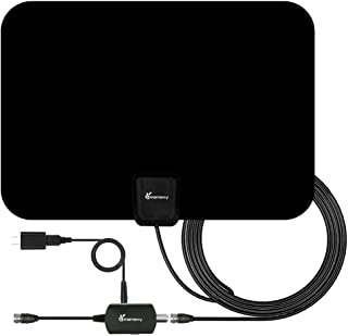TV Antenna, Vansky Digital Amplified HDTV Antenna 65-80 Mile VHF/UHF Freeview TV Local Channels Support 4K 1080p & All Older TVs