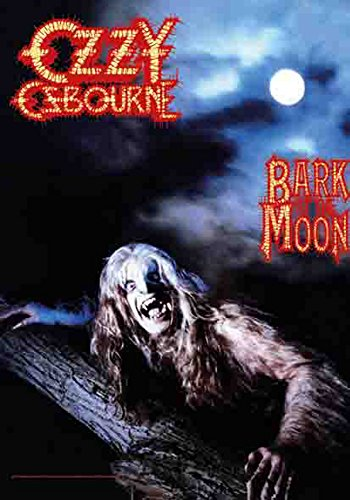 Ozzy Osbourne – Bark at the moon – poster drapeau – 100% Polyester – Taille 75 x 110 cm