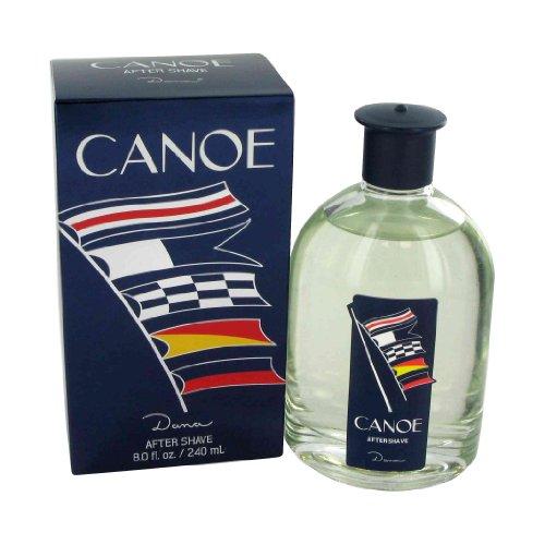 Canoe Men After Shave Splash by Dana, 8 Ounce