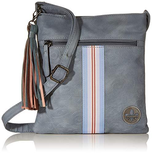 Rieker Damen Handtasche H1012, Blau (Adria), 240x10x220 cm