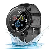 Smart Watch, Fitness Tracker Watch with Heart Rate Monitor Pedometer Sports Watch