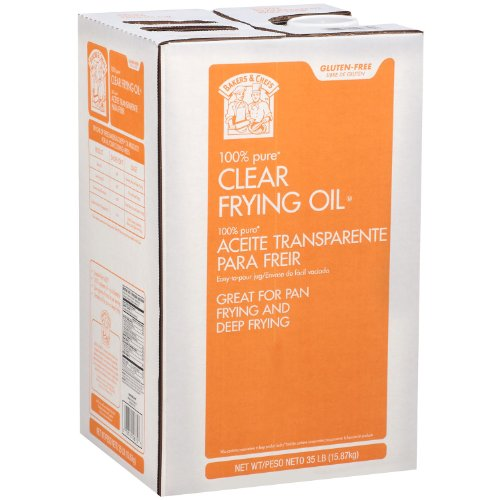 Bakers & Chefs Clear Frying Oil - 35 lbs.