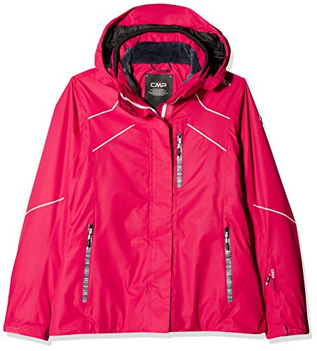 CMP Damen Wattierte Twill 5000 Skijacke, Rot (Granita/C829), Gr. 38