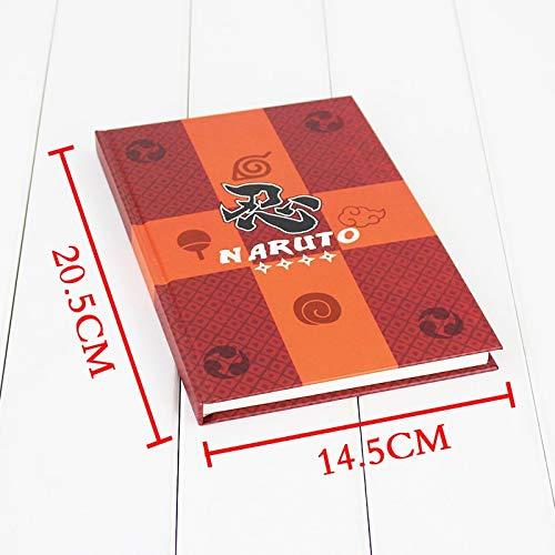 Romantic-Z 2016 Neue Kreatives Briefpapier Anime Notebook Naruto Notebook Hinweis Taschenbuch Sammlung Cosplay Notebook Reisetagebuch