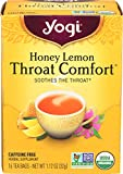 Yogi Tea Throat Comfort, Honey Lemon 16 ea