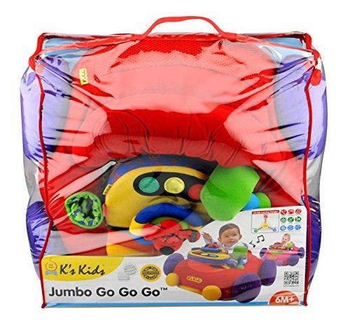 K'sKids布おもちゃジャンボ・ゴー・ゴー・ゴーTYKK10345