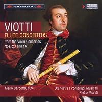Flute Concertos from the Violin Concertos Nos. 23