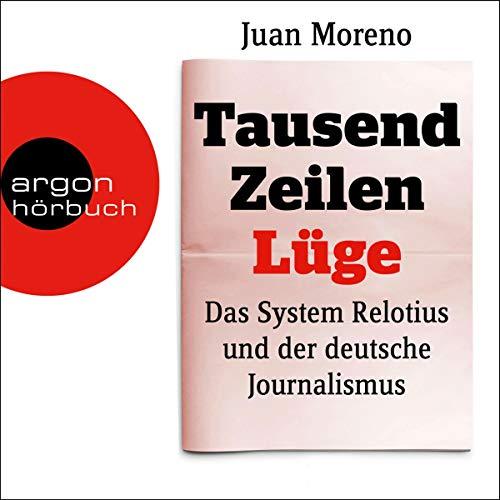 Tausend Zeilen Lüge audiobook cover art