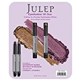Julep Crème to Powder Eyeshadow Stick Duo - Orchid Shimmer and Bronze Shimmer