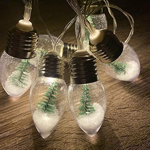 INFILM - Cadena de luz para árbol de Navidad, para exteriores, patio, decoración comercial, para jardín, jardín, decoración de paisajes