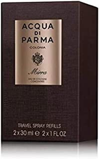 Acqua Di Parma Ingredient Collection Colonia Mirra Eau De Cologne Concentree Spray Travel Spray Refills 2x30ml 2ml