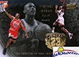 2009/10 Upper Deck Michael Jordan LEGACY 1985 Rookie of the Year and SIX Times NBA Champion Special GOLD Card in Mint Condition! Shipped in Ultra Pro Top Loader!