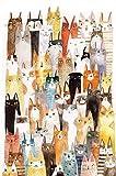 MTAMMD Puzzles Anime Landscape Cat El Rompecabezas De Madera 5000 1000...