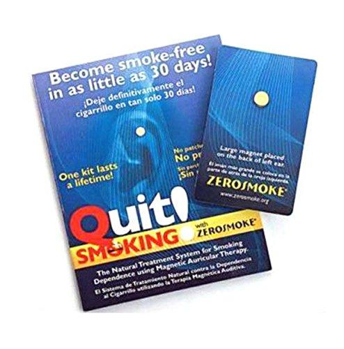 Beendigtes Rauchen Mit ZEROSMOKE GESUNDHEIT MAGNETE - Congelador Therapie magnetische Ohrringe