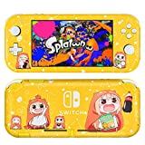 DLseego Switch Lite Skin Cute Girl Pattern Full Wrap Skin Protective Film Sticker Compatible with Nintendo Switch Lite-Yellow