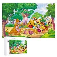 Winnie Ther Pooh ジグソーパズル 1000ピース diy ディズニー くまのプーさん パーティー 夢のファンタジー 可愛い 誕生日 絵画 学生 子供 TOYS Jigsaw Puzzle 木製パズル 溢れる想い おもちゃ 幼児 アニメ 漫画 プレゼント エンスカイ 壁飾り 無毒無害 ギフト クリスマス