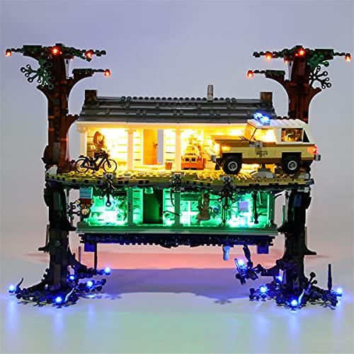 Kit De Luces Led Para Lego Stranger Things Mundo Del RevéS, Compatible Con El Modelo De Bloques De ConstruccióN De Juguetes Lego 75810 (No Incluido En El Modelo)