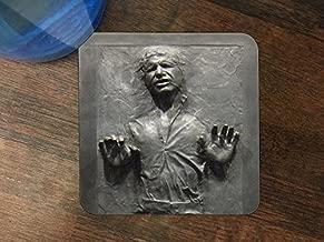 Cool Carbonite Print Silicone Drink Beverage Coaster 4 Pack