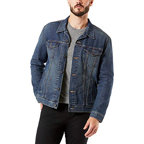 Signature by Levi Strauss & Co. Gold Label Men's Signature Trucker Jacket, Elvis, XX-Large