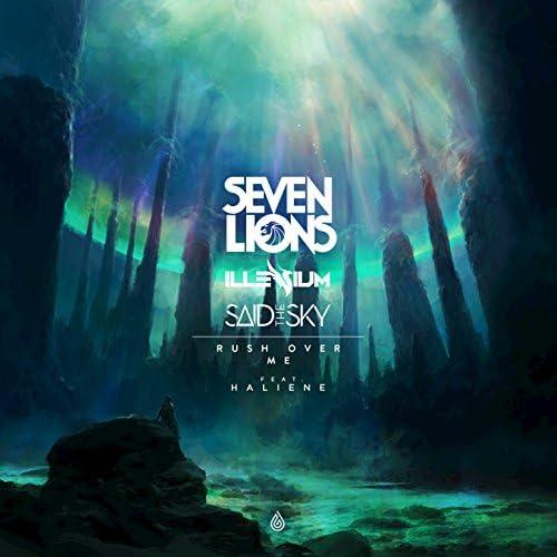 Seven Lions, Illenium, Said the Sky, HALIENE