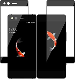Axon M Screen Protector Glass, Front+Back Full Covered Screen Tempered Glass Screen Protector Film for ZTE Axon M Z999