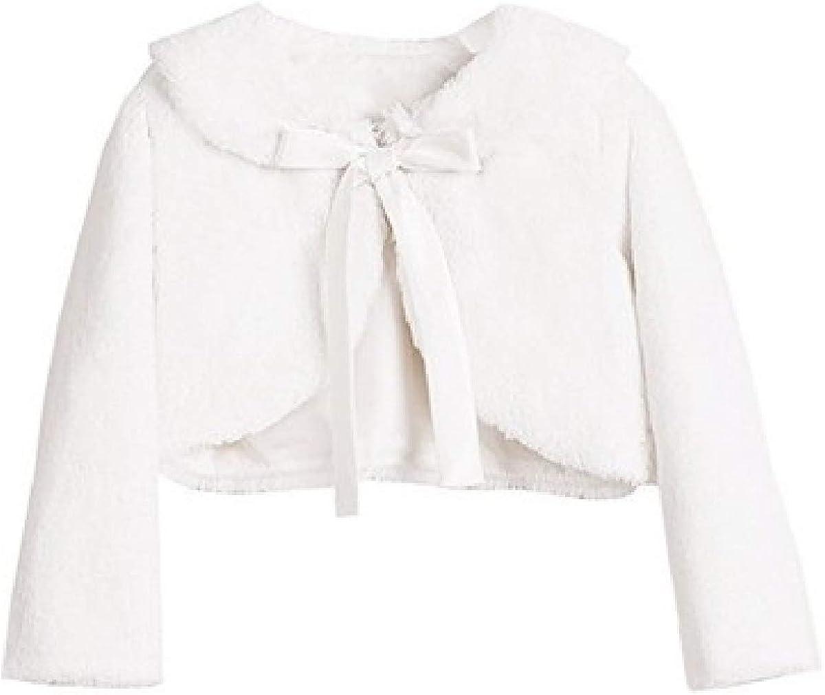 Aki_Dress Ribbon Faux Fur Jacket Satin Ribbon Collar Jacket Sweater Bolero