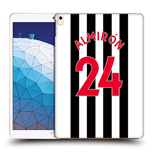 Official Newcastle United FC NUFC Sean Longstaff 2020/21 Players Home Kit Group 1 Hard Back Case Compatible for Apple iPad Air (2019)