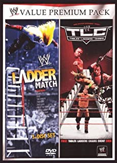 WWE Value Premium Pack: The Ladder Match/Tables Ladders Chairs 2009 (4-DVD Set)