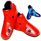 R2F Sports Semi Contact Kickboxing MMA Boots Taekwondo Martial Arts Sparring Shoes Foot