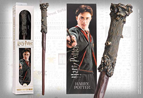 The Noble Collection Harry Potter PVC Zauberstab und prismatisches Lesezeichen