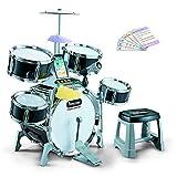 GODNECE Drums pour Enfants, Drums Electronic Kit de Batterie Jazz Jouet Dinstrument