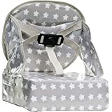 Baby To Love Asiento para Bébé Easy Up - White Stars - asientos Enganchables