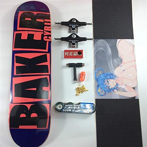 JSJJAES Skateboard Baker Pro Canadia...