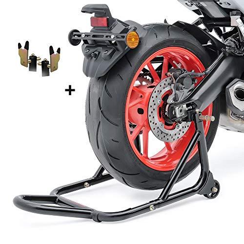 ConStands - Motorrad Montageständer Triumph Tiger 800/ XC Schwarz Hinten Standard Universal
