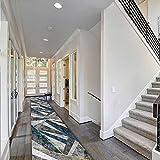 HYEYXKK Largos Corredores de alfombras para la habitación de la Entrada de Las escaleras del Hall de Halls, 1 m / 1,5 m / 2m / 2.5m / 3m / 3.5m / 4m / 4.5m / 5m / 5.5m / 6m de área de Puerta de área
