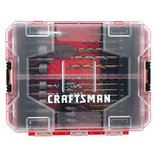 CRAFTSMAN Drill Bit Set, 60 Pieces (CMAF1260)