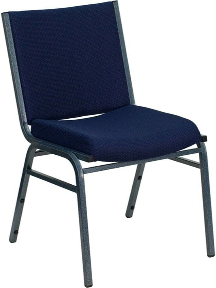 HUIJK Living Room Chairs Blue Fabric Max 60% OFF Chair Ranking TOP8 Stack Navy Metal