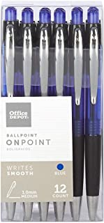 foray soft-grip retractable ballpoint pens