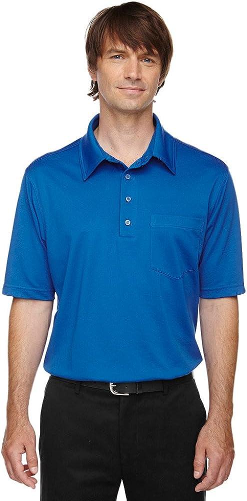 Ash City - Extreme Extreme Eperformance Men's Tall Shift Polo Shirt, 4XT, True Royal 438