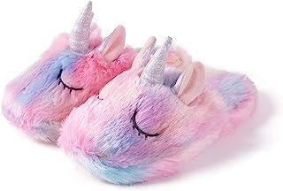 Kids Slippers Unicorn Cute House Slippers Memory foam...