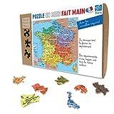 Puzzle - Carte De France Departement