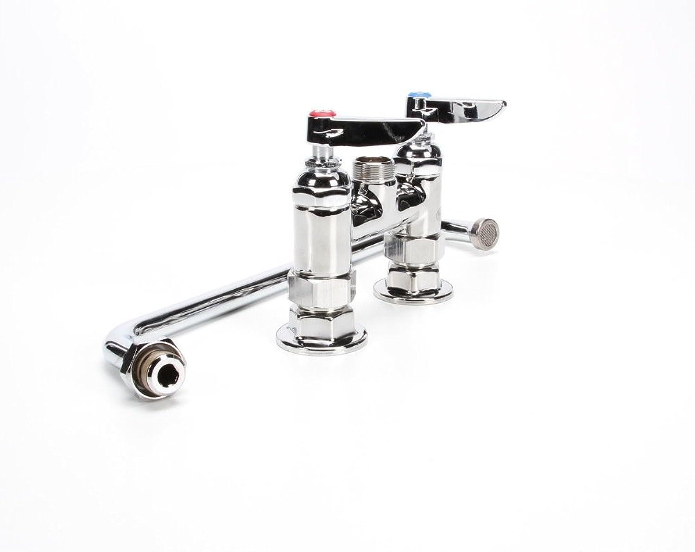 T&S Brass B-0225 Double Pantry Faucet Deck Mount