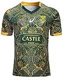 LRH 2019-2020 Maillot de rugby pour homme, Afrique du Sud 100th Anniversaire, version commémorative, pour enfants, adultes, femmes, taille XL