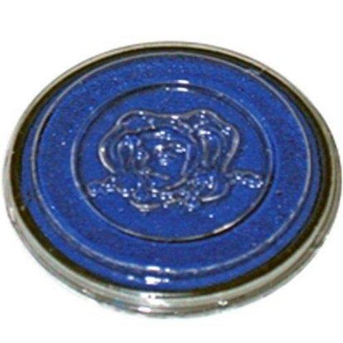 Eulenspiegel Profi-Schminkfarben Chouette Miroir 435304 – à Effet Fluo de Couleur, Bleu, 20 ML