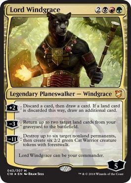 Magic: The Gathering - Lord Windgrace - Foil - Commander 2018