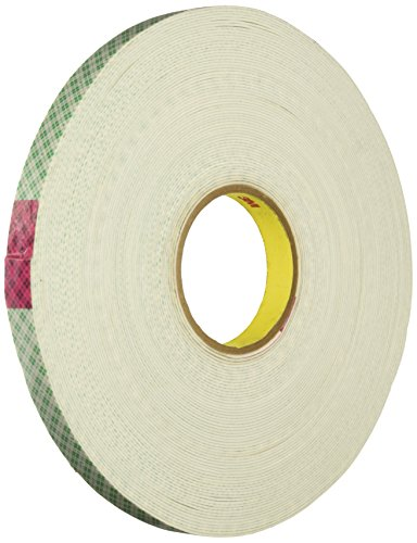 3M Multipurpose Mounting Tape 4016, Off White, 3/4 in x 15 yd, 62 mil