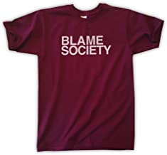Outsider. Men's Unisex Blame Society T-Shirt