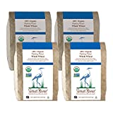 Great River Organic Milling, Specialty Flour, Whole Wheat Pastry Flour, Stone Ground, Organic, 5-Pounds (Pack of 4)
