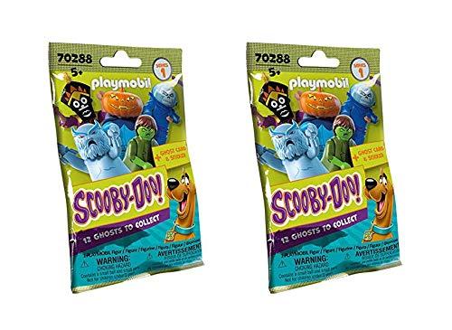 Outletdelocio.. Conjunto 2 Sobres Playmobil Scooby-Doo Figuras Misterio. Serie 1