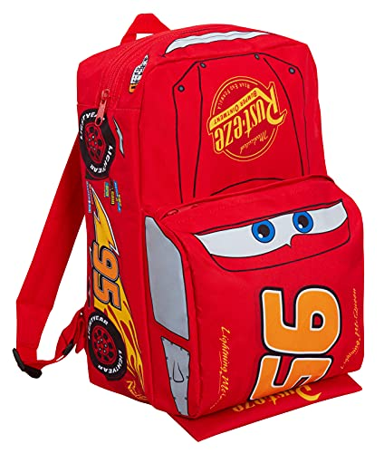 Disney Kids Cars Backpack Official Lightning McQueen 'Piston Cup Champion'...